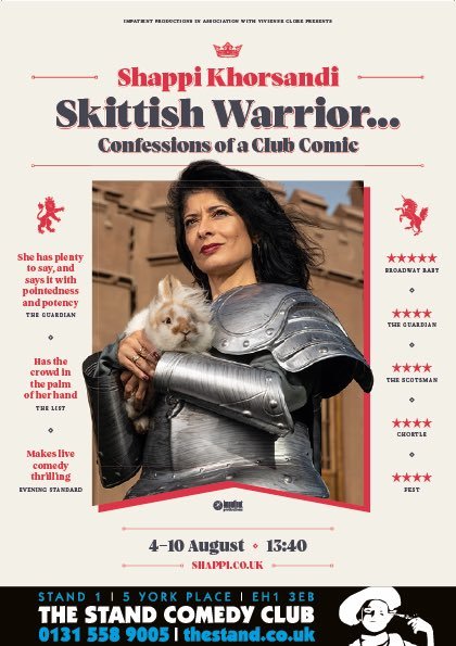 Skittish Warrior In Edinburgh…